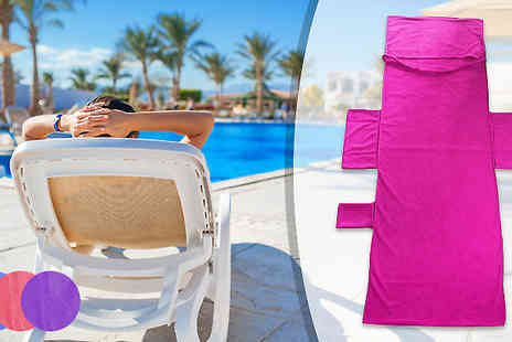 Home Season - Towel Lounger Bag Available in 3 Colours - Save 60%