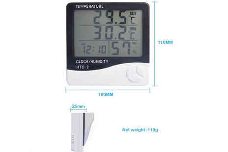 Good2items - Lcd Humidity Thermometer - Save 75%