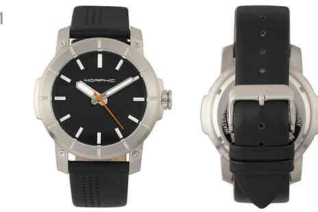 Ideal Deal - Morphic M54 Leather Watch Choose Seven Designs - Save 92%