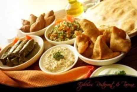 Ephesus Restaurant & Taverna - Mezze Platter For Two Plus Wine - Save 59%