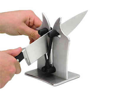 Domo Secret - Hard carbide kitchen knife sharpener - Save 84%