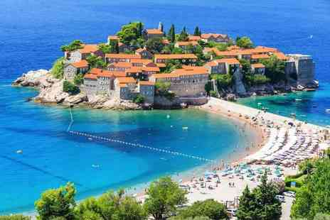 Via Holiday - Four Star Seven night all inclusive Montenegro holiday with return flights - Save 27%