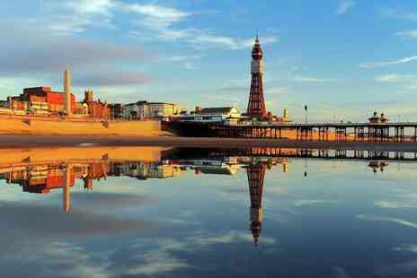 The New Osborne Hotel - Two nights Blackpool stay for two people with breakfast and bottle of Prosecco - Save 58%