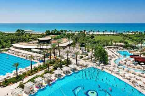 Teletext Holidays - Five star All inclusive Turkey week with flights - Save 0%