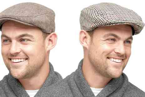 Groupon Goods Global GmbH - Mens Classic Flat Cap - Save 0%