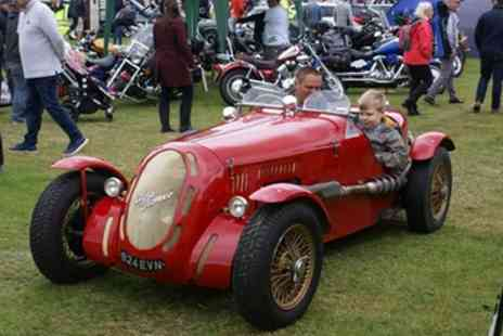 Bath Festival Of Motoring - Two adult tickets to Bath Festival of Motoring, plus entry for up to four children - Save 50%