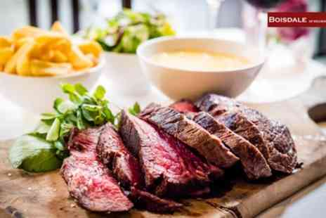Boisdale of Canary Wharf - Truffle Burger with Chips and Wine for One or Two - Save 44%