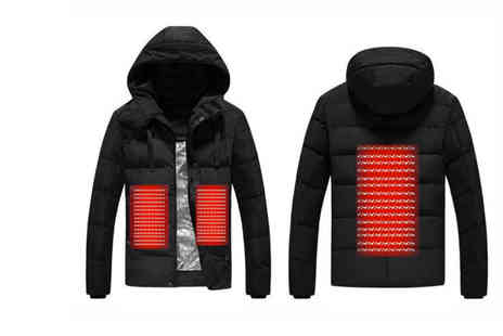 Charles Oscar - Usb heated jacket - Save 63%