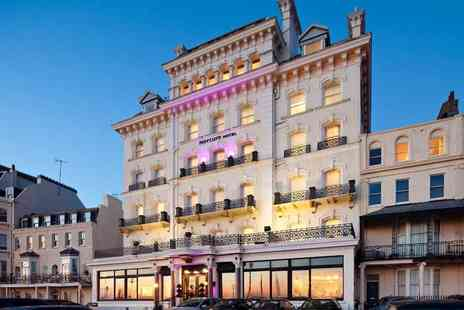 Mercure Brighton Seafront Hotel - Overnight seaside stay for two people with breakfast - Save 49%