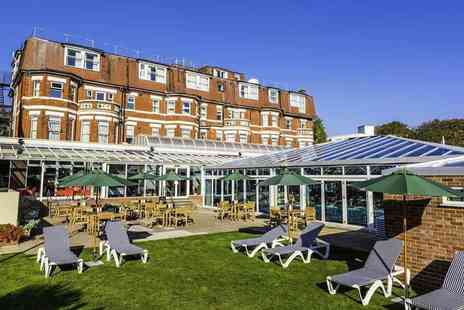 Bournemouth West Cliff Hotel - Overnight stay for two people with breakfast, dinner, wine and spa access - Save 23%