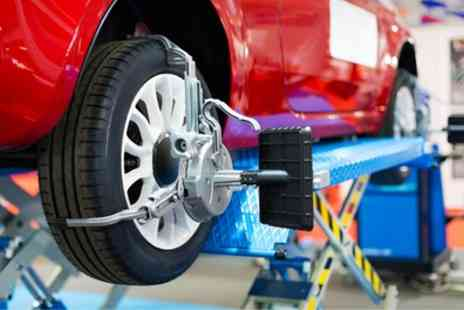 Motor Magic - Wheel Alignment and Tracking Check - Save 60%