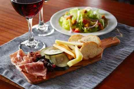 The Med Bar - Four or Eight Tapas to Share and Glass of Wine for Two or Four - Save 33%