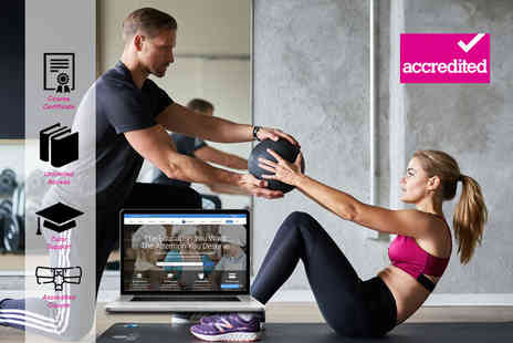 Harley Oxford - Accredited online personal trainer level Three diploma course - Save 94%