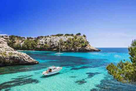 Super Escapes Travel - Seven nights all inclusive Menorca holiday with return flights - Save 28%