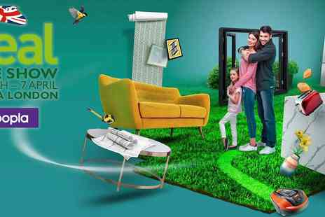 Media 10 - The Ideal Home Show with 53% off 2 Tickets Plus Kids Go Free - Save 53%