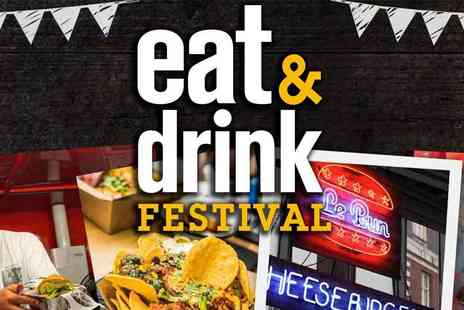 Media 10 - Eat and Drink Festival Tasty Delights, New Ideas and More - Save 53%