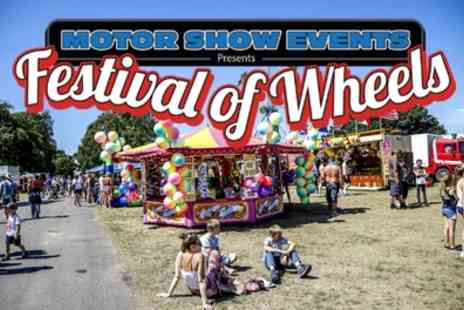 Festival of Wheels 2019 - One child, adult or a family camping ticket to Festival of Wheels on 2 To 4 August - Save 45%