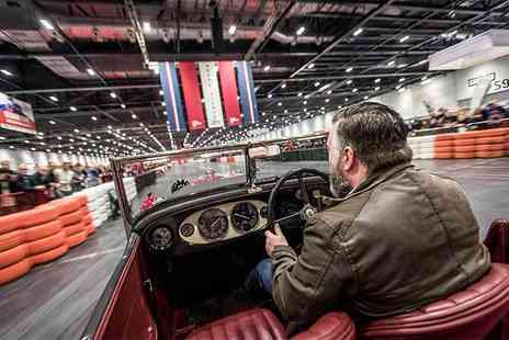 The London Classic Car Show - Ticket to the London Classic Car Show - Save 31%