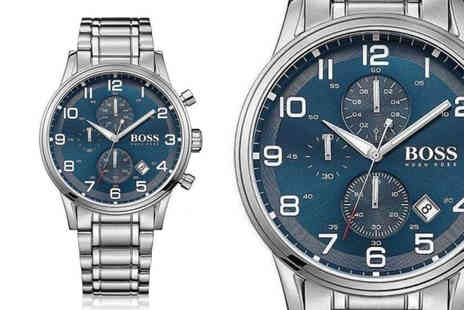 Direct E Trade - The time is perfect to check out our Hugo Boss Aeroliner watch deal - Save 70%