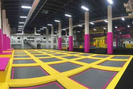 Boost Leicester - Trampoline Park Access One or Two Hour Session for One or Two - Save 27%