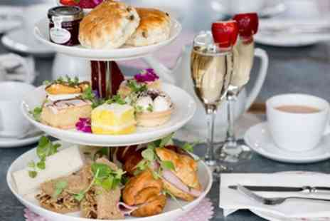 Sweet Rose Cakery - Traditional Afternoon Tea with Optional Glass of Prosecco for Two or Four - Save 24%