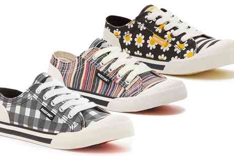 Groupon Goods Global GmbH - Rocket Dog Jazzin Womens Lace Up Sneakers - Save 0%