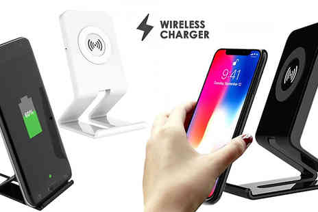 HXT Goods - Wireless Smartphone Charging Stand Choose iOS And Android Compatible - Save 73%