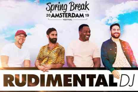 Spring Break Festival 2019 - Three day Spring Break Festival 2019 ticket, two day parties, a VIP upgrade, a festival T shirt and a discount wristband on 7 To 9 or 14 To 16 April - Save 54%