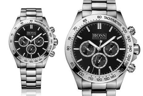 Hip Watches - Mens Hugo Boss HB1512965 chronograph watch - Save 43%