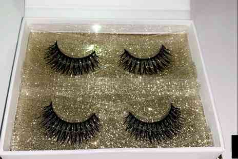 Apna distribution - Set of reusable real silk 3D lashes - Save 71%