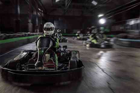 Apex Kart - 30 minute go karting experience for one person with unlimited laps - Save 25%