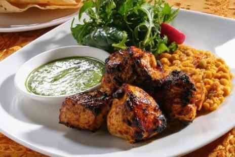 Zulaika Indian Restaurant - Two Course Meal with Sides and Drink for Two or Four - Save 65%