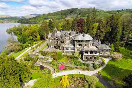 Langdale Chase Hotel - Four Star Wintry Break on Lake Windermere and 2 AA Rosette Restaurant for two - Save 36%