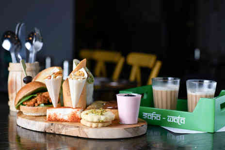 Soho Wala - Indian Afternoon Tea with Prosecco for Two - Save 0%