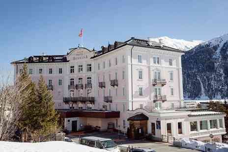 Hotel Bernina 1865 - Four Star Breathtaking Views of Endagin Valley for two - Save 66%