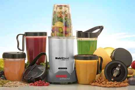 Groupon Goods Global GmbH - Cooks Professional 10 or 15 Piece 1000W Nutriblend Blender Set - Save 69%