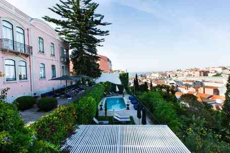 Torel Palace - Hidden Gem Overlooking Lisbons City Centre for two - Save 67%