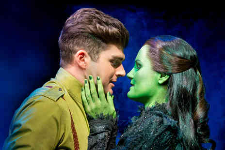 Virgin Experience Days - Wicked Top Priced Theatre Tickets and Dinner for Two - Save 0%