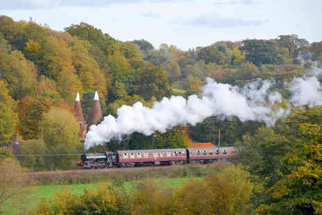 Virgin Experience Days - Spa Valley Railway Trip and Afternoon Tea for Two - Save 0%