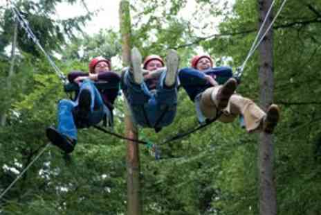 Virgin Experience Days - Extreme High Ropes Course - Save 0%