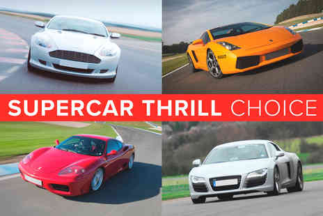 Virgin Experience Days - Supercar Thrill Choice - Save 0%
