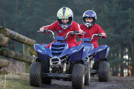 Virgin Experience Days - Junior Quad Biking for Two - Save 0%