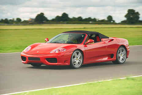 Virgin Experience Days - Taste life in the fast lane as you drive one of the most desirable cars in the world with this Ferrari Thrill experience - Save 0%