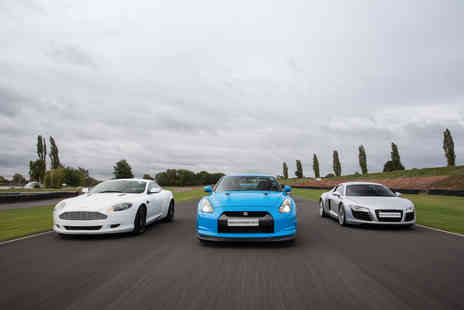 Virgin Experience Days - Six Supercar Blast plus High Speed Passenger Ride and Photo For Weekday - Save 47%