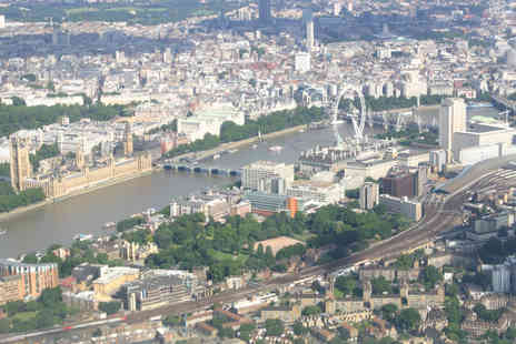 Virgin Experience Days - City of London Helicopter Sightseeing Tour for One - Save 13%