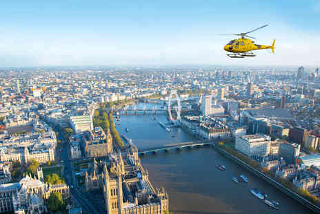 Virgin Experience Days - Central London Helicopter Flight for Two - Save 0%