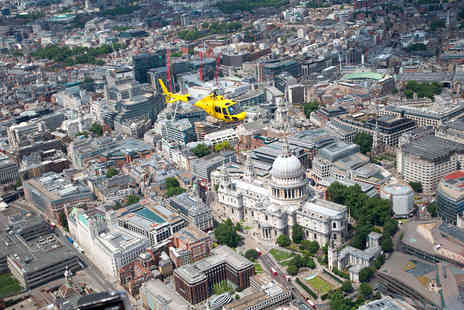 Virgin Experience Days - Central London Sights Helicopter Tour - Save 0%