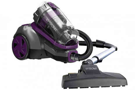 Direct Vacuums - 3L Bagless Cylinder Vacuum With Great For Pet Hair - Save 40%