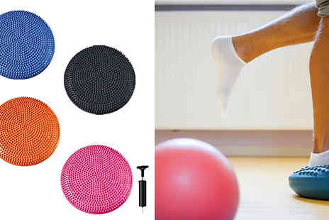 Home Season - Wobble Disc Balance Board For Core And Stability Choose Four Colours - Save 60%