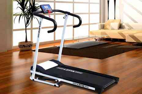 Eve Motion - 500W motorised treadmill choose from two colours - Save 55%